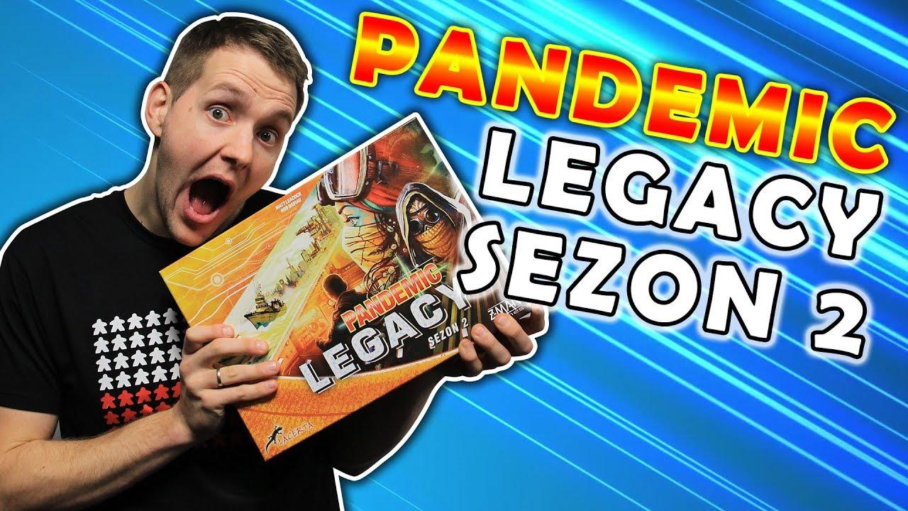 Pandemia Legacy: Sezon 2 – UNIKATOWA gra kooperacyjna