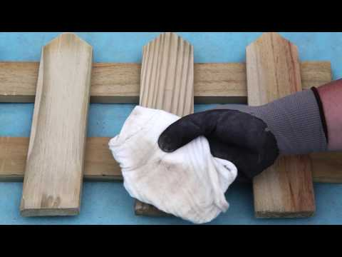 Sealing wood for outdoors