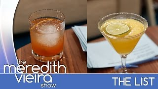 His 'n' Her Cocktails! - #thelist | The Meredith Vieira Show
