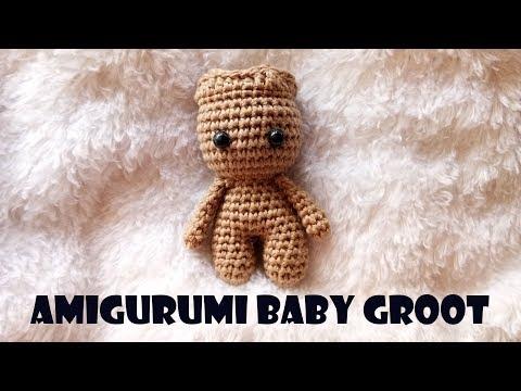 Amigurumi de Groot | CrochetyAmigurumis.com | 360x480