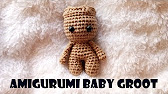 Making Baby Groot - Crochet Tutorial // duchessofcrafting - YouTube | 94x168
