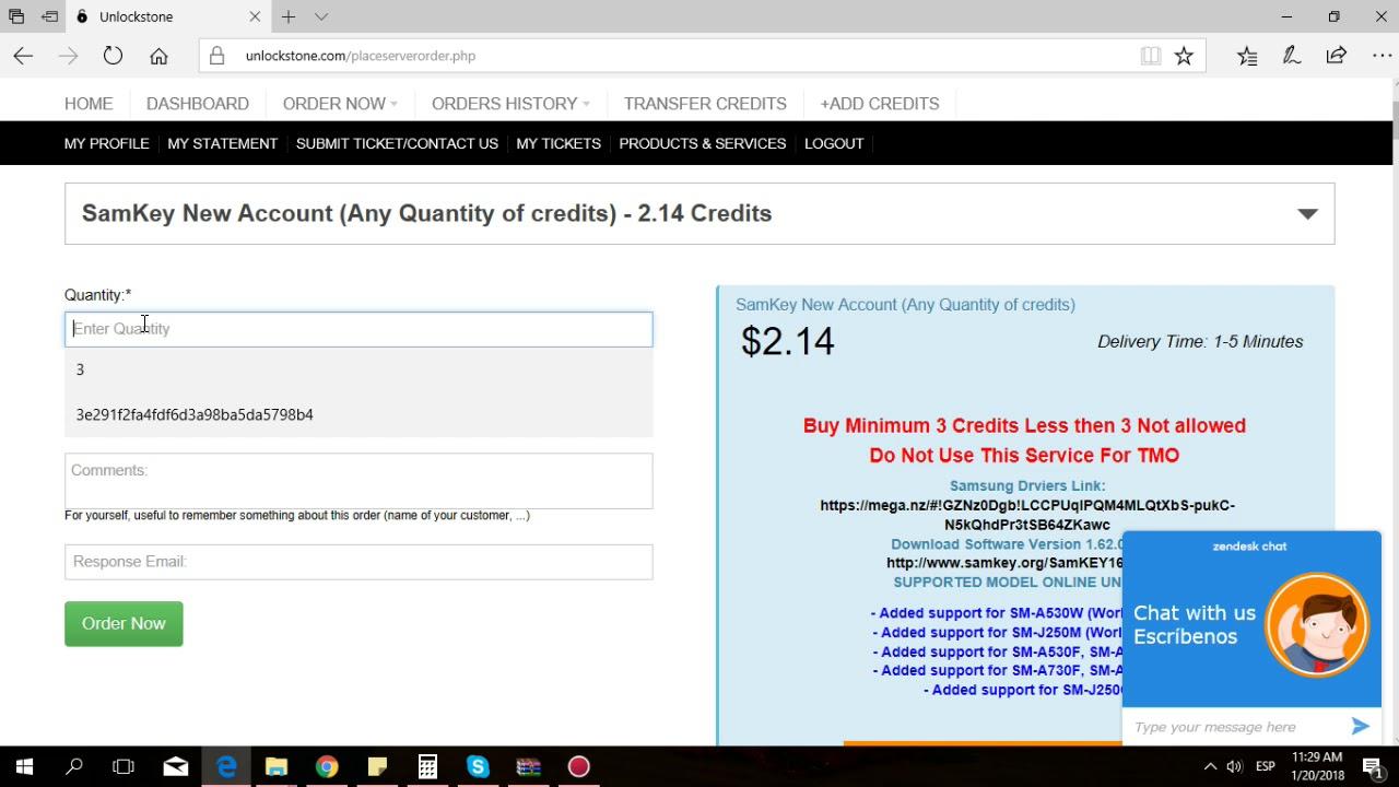 Samkey Read Codes - How buy 3 credits? (Cómo comprar 3 créditos)