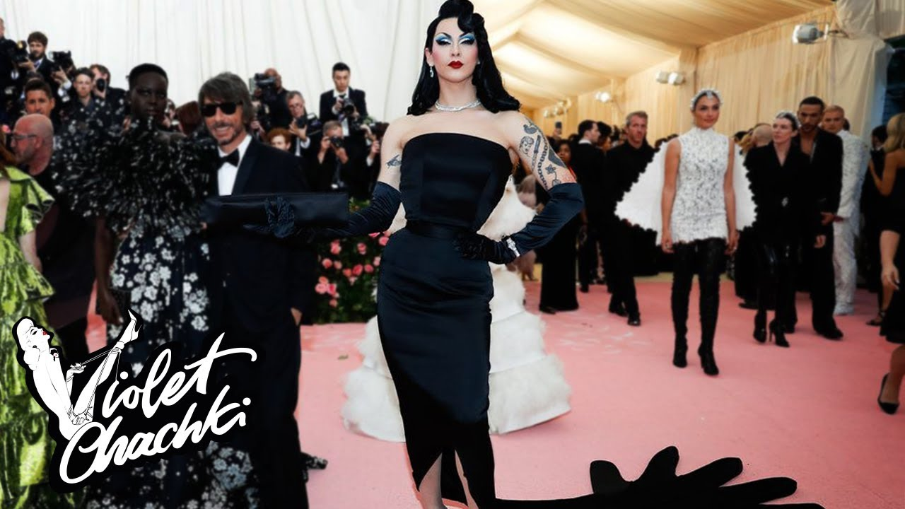 e35e7d087f46 Attending the Met Gala | Violet Does - YouTube