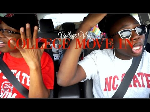 COLLEGE VLOG l NCSU Move In + Meet My New Friends
