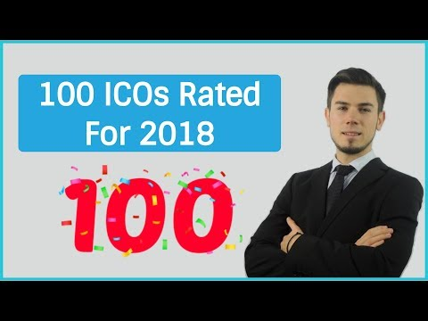 100 CRYPTOCURRENCY ICO RATINGS & REVIEWS FOR 2018