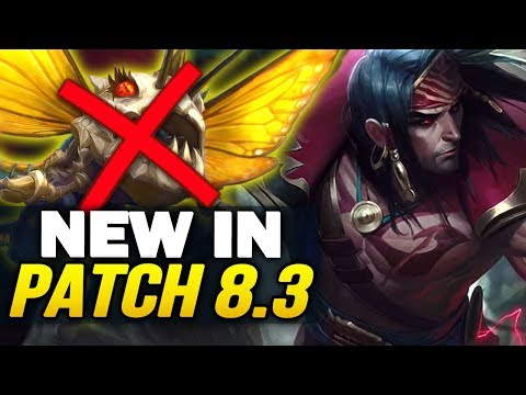 New in Patch 8.3 - Big balance changes and new Swain! (League of Legends)
