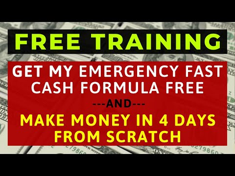 How To Make Money FAST Online - The REAL Way To Make EASY Income For FREE In Just 4 Days [TUTORIAL]