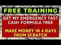 How To Make Money FAST Online – The REAL Way To Make EASY Income For FREE In Just 4 Days  TUTORIAL
