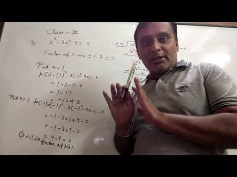 Polynomial Of Class Ix By Ravi  Taneja Of Ex 2.4.1