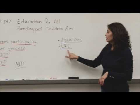 Introduction to Special Education Law