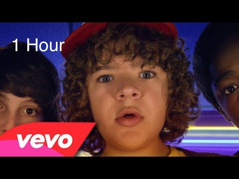 1 hour Dustin sings a song stranger things