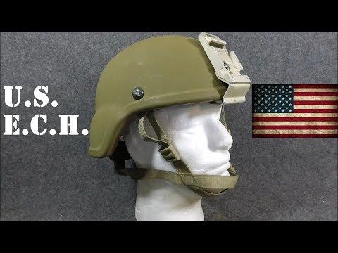 Helmets Of The World: U.S. ECH (Enhanced Combat Helmet)