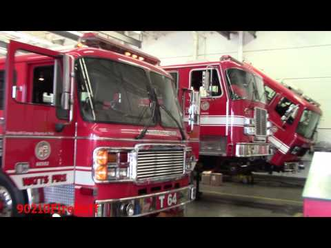 Mini Inside Look of the LAFD Shops