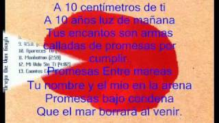 Watch La Oreja De Van Gogh Diez Centimetros De Ti video