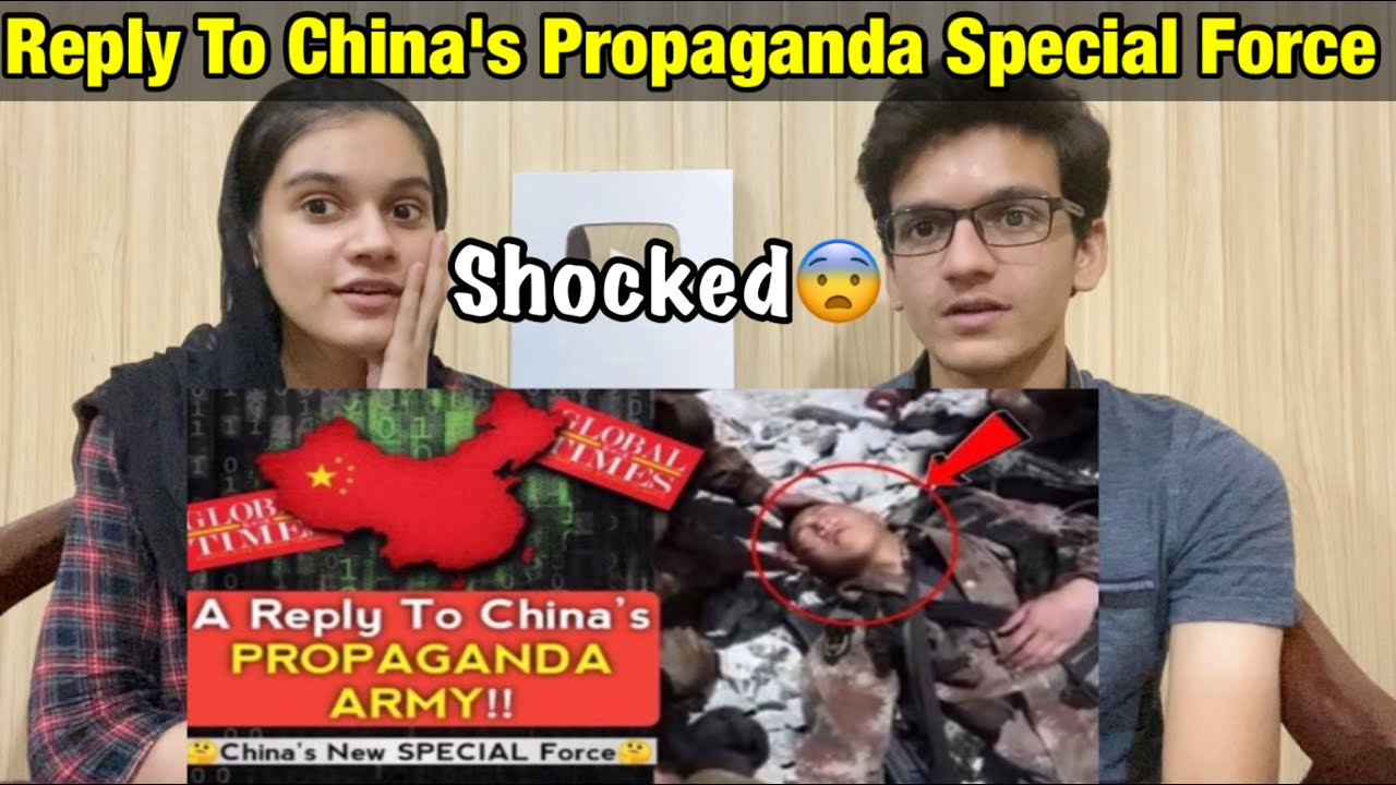 A Reply To China's Propaganda Special Force - Pakistani Reaction!