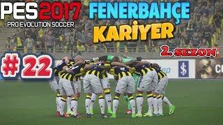 YARI FİNAL İÇİN İSPANYA'YA // PES 2017 | Fenerbahçe Kariyer 2.Sezon | 22.Bölüm