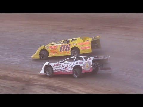 ULMS Super Late Model Heat Two | McKean County Raceway | Fall Classic | 10-15-16