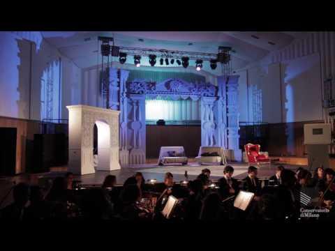 Donizetti: Don Pasquale, act 2/Spina, Drei, Scaccabarozzi, Wang - Conservatorio di Milano