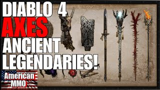 *NEW* DIABLO 4 MOVES AWAY FROM ANCIENT LEGENDARIES! NEW ITEM SYSTEM! NICE!!!