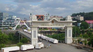 Toàn Cảnh Cửa Khẩu Lào Cai