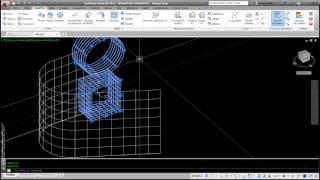 Modelado de superficies emplame, recortar , anular recorte y esculpir en AutoCAD