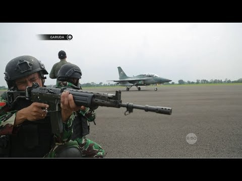 GARUDA - Elang Gesit 2018, Latihan Puncak Lanud Iswahjudi