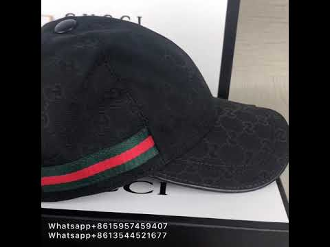 721f9a20362a7c Gucci Hat Fake vs Real In Depth - YouTube