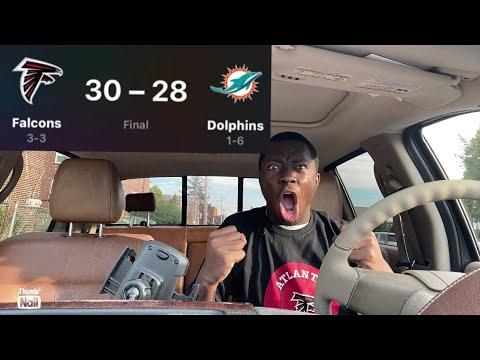 Falcons vs. Dolphins 2021 final score, immediate reactions in Week 7