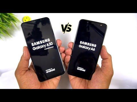 Samsung Galaxy A30 Vs Galaxy A6 Speed Test & Comparison [Urdu/Hindi]