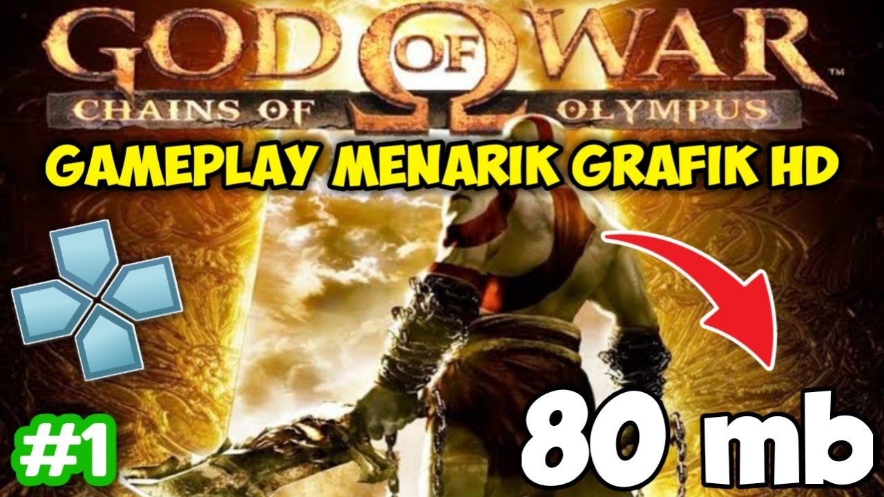 God Of War Mini Size Game Ppsspp 1 Youtube
