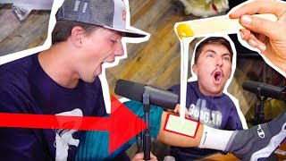 SAY The WORD and GET WAXED Challenge ( Painful Punishment!! )