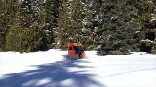 Snowcat Winter Camping Oregon Cascades