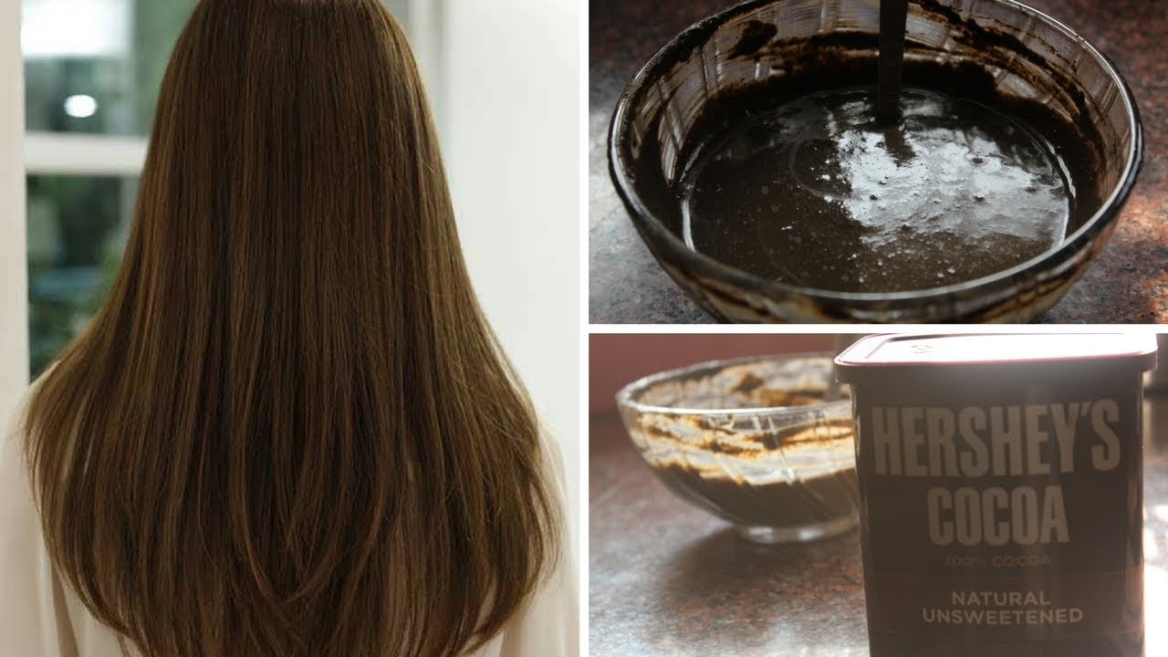 Cocoa Hair Dye Change Your White Hair Into Black 100 Effective