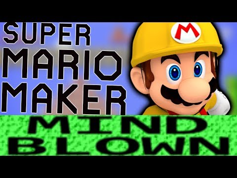 How Super Mario Maker is Mind Blowing!