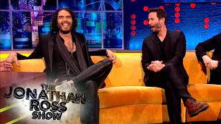 Russell Brand Loves Everỳthing Keanu Reeves Has Done   The Jonathan Ross Show