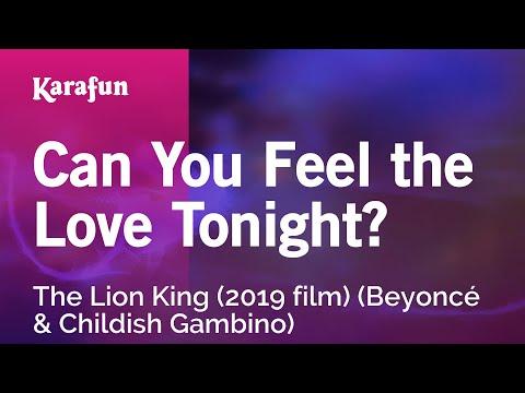 Karaoke Can You Feel The Love Tonight? - The Lion King (2019 Film) (Beyoncé & Childish Gambino) *