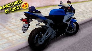 GTA SA : MOTOVLOG - ROLÊ DE CBR 600 2007 PRATA COM AZUL A MAIS LINDA DE TODAS😍🔑‹ DS GAMEPLAYS ›
