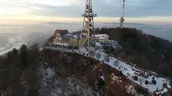 Uto Kulm Hotel - Zurich, Switzerland - Aerial drone view
