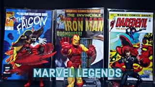 MARVEL LEGENDS CLASSICS | Avengers Iron Man , Black Widow , Falcon