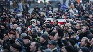 «Марш недармаедаў» у Гомлі. УЖЫВУЮ | «Марш нетунеядцев» в Гомеле