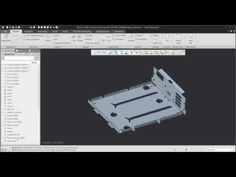PTC Creo: Avtomatični izvoz 3D modela v DXF
