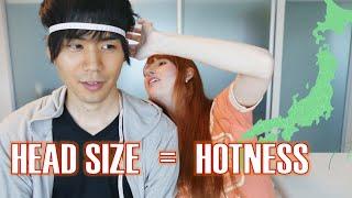 Culture shock! Head size matters カルチャーショック・小顔