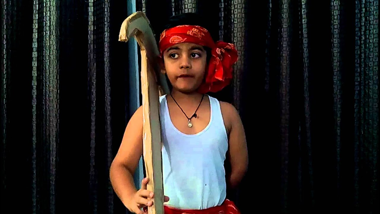 sc 1 st  YouTube & Fancy Dress competition Indian farmer - YouTube