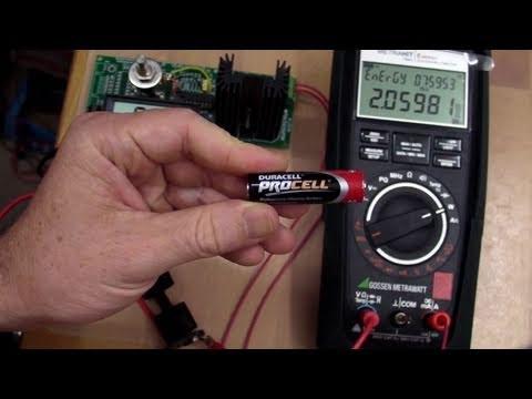 Eevblog 141 Aa Alkaline Battery Capacity Measurement