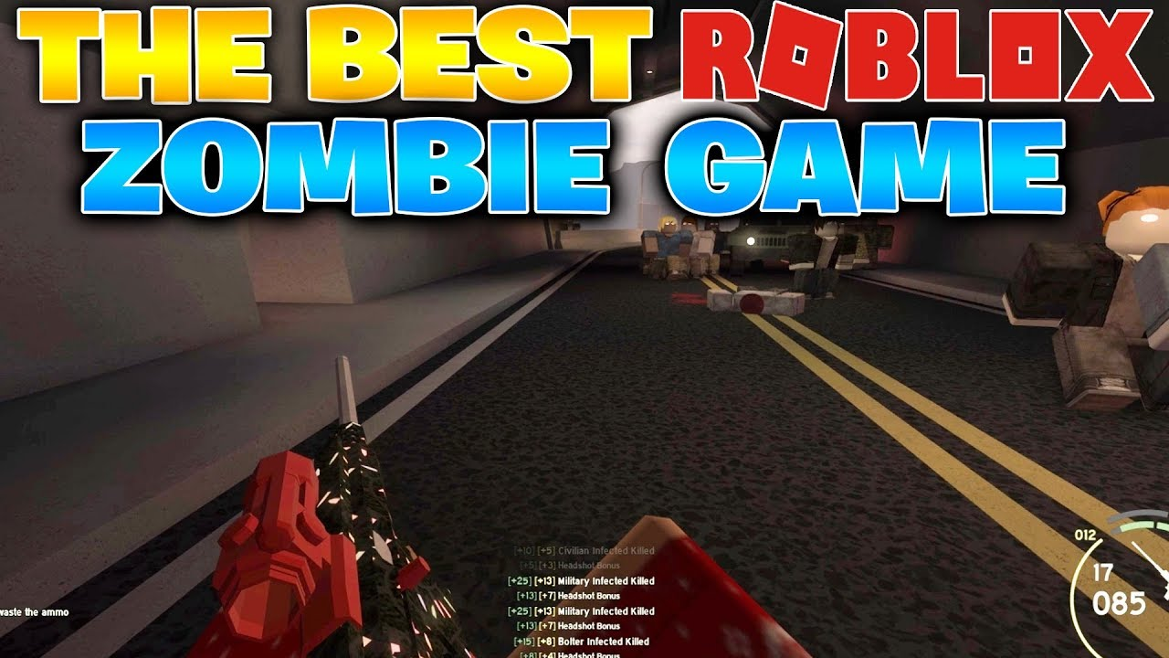 Best Zombie Survival Games In Roblox The Best Zombie Game In Roblox Those Who Remain Youtube