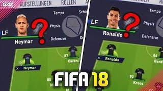 Fifa 18 | gli overall di ronaldo e neymar! saranno ufficiali?! [real madrid, psg, man united]