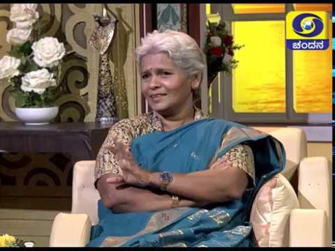 Poet H.L.Pushpa in Shubhodaya Karnataka | 13-03-2019 | DD Chandana
