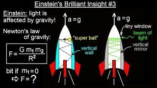 Physics - Relativity: Understanding Space, Time & Relativity(9 of 55) Einstein's Brilliant Insight 3