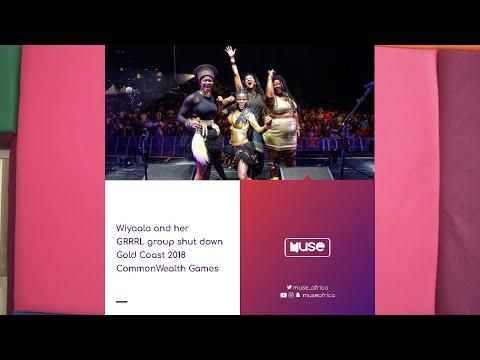 Wiyaala & her GRRRL Group shut down Gold Coast 2018 Commonwealth Games