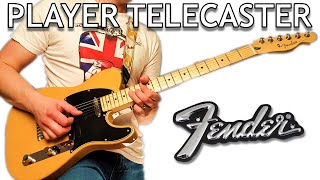 Loving This Fender Player Series Telecaster in Butterscotch Blonde